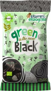 Ekorrens Ekologiska Green Is The New Black Lakrits 80 g