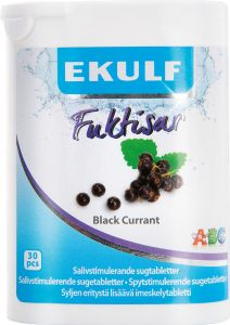 EKULF Fuktisar Black currant 30 st