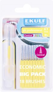 EKULF PH Professional Konisk 0,7 mm 18 st