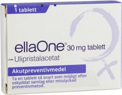 EllaOne Tablett 30 mg 1 st