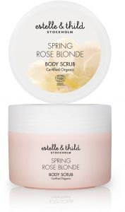Estelle & Thild Rose blonde body scrub 200 ml