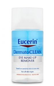 Eucerin dermatoclean eye makeup remover 125 ml