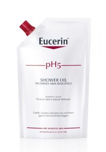 Eucerin Ph5 Shower oil refill med parfym 400 ml