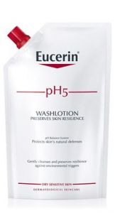 Eucerin Ph5 Washlotion refill med parfym 400 ml