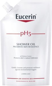 Eucerin Shower oil refill utan parfym 400 ml