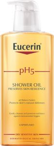 Eucerin Shower oil utan parfym 400 ml
