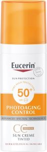 Eucerin Sun creme face tinted 50+ 50 ml