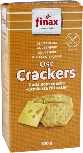 Finax Cheese Crackers 100 g
