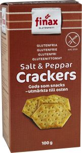Finax Salt & Pepper Crackers 100 g