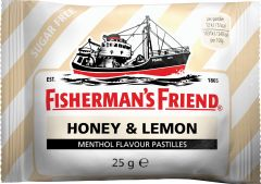 Fisherman's Friend Honey/Lemon sockerfri 25 g