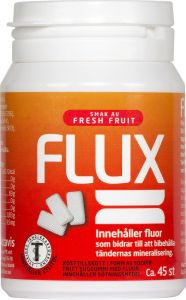 Flux Tuggummi Fresh Fruit Burk 45 st