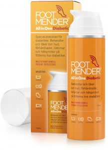 Footmender All in one fotkräm för diabetiker 150 ml