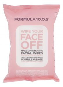 Formula 10.0.6 Wipe your face off ansiktsservetter 25 st