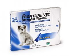 Frontline Vet 100 mg/ml spot-on 4 x 1,34 ml