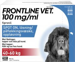 Frontline Vet 100 mg/ml Spot-on Lösning  6 x 4,02 ml