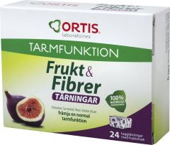 Frukt & Fibrer Normal tarmfunktion 24 st