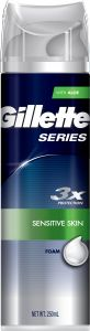 Gillette Series sensitive foam 250 ml