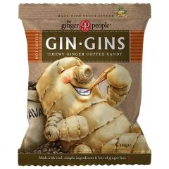 Gin Gins Hot Coffee Chewy Ginger Candy 150 g