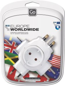 Go Travel World adaptor europé
