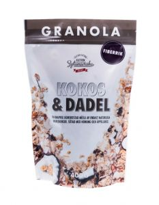 Clean Eating Granola Kokos&Dadel 400 g