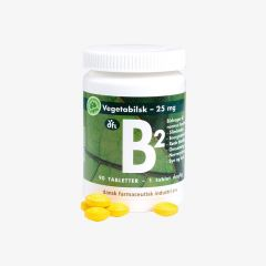Grønne Vitaminer B2 Vegan 90 tabletter