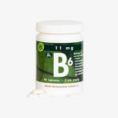 Grønne Vitaminer B6 Vegan 90 tabletter
