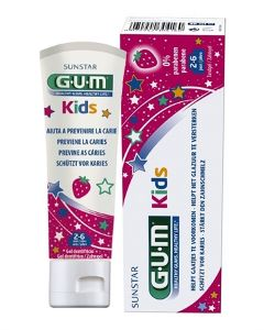 GUM Kids tandkräm 2-6 år 50 ml