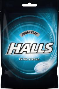 Halls Extra strong sugarfree 65 g