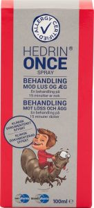 Hedrin Once Lusmedel 100 ml