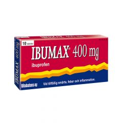 Ibumax 400 mg filmdragerade tabletter 10 st