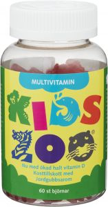 Kids Zoo Multivitamin 60 stycken