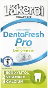 Läkerol DentaFresh Pro Lemongrass 31 g