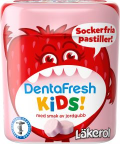Läkerol DentaFresh Kids Strawberry 55 g
