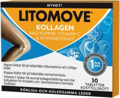Litomove Kollagen tabletter 30 st