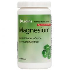 Ledins Magnesium 250 mg 100 tabletter