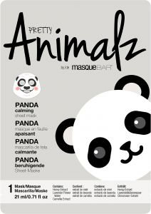 MasqueBar Animalz Panda Sheet Mask 1 st