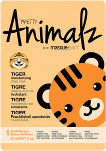 MasqueBar Animalz Tiger Sheet Mask 1 st