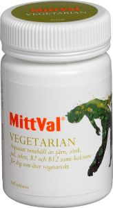 MittVal Vegetarian 100 st
