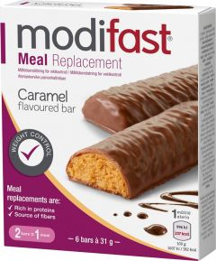 Modifast Bar caramel 6 st