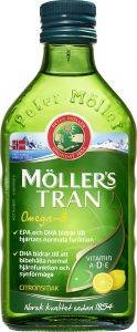 Möllers Tran citron 250 ml