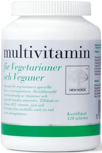 Multivitamin för vegetarianer 120 st