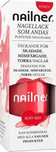 Nailner Nagellack rosy red 8 ml