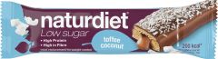 Naturdiet Low sugar mealbar toffee coconut 58 g