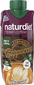 Naturdiet Protein Coffe Caramel 330 ml
