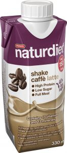 Naturdiet Ready to drink caffe latte 330 ml