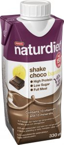 Naturdiet Ready to drink choco banana 330 ml