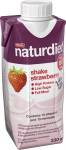 Naturdiet Ready to drink jordgubb 330 ml
