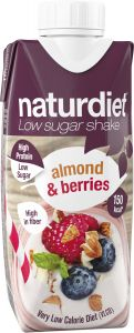 Naturdiet Shake almond & berries KFP 330 ml