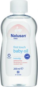 Natusan Baby First touch oil oparfymerad 200 ml
