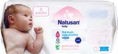 Natusan Baby wipes 112 st